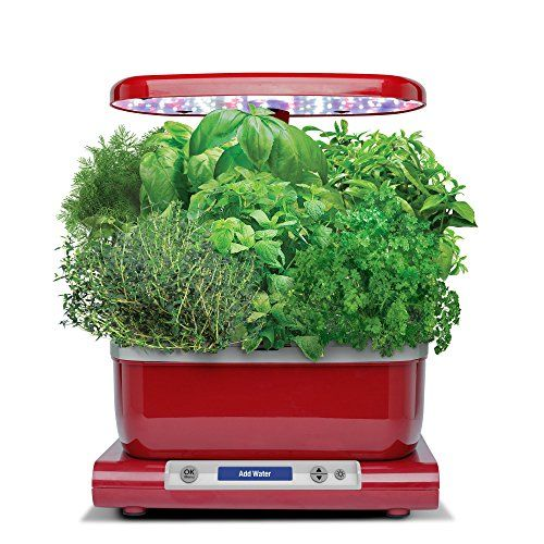Aerogarden Harvest With Gourmet Herb Seed Pod Kit Red 400 x 300