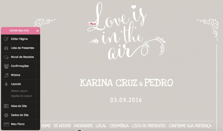Papo de noiva: Onde hospedar o site dos noivos? » Karina Cruz   Fashion & Lifestyle