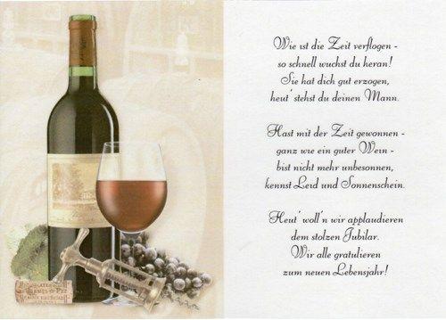 Gedicht Auf Transparentpapier Geburtstag Mann Bastelversand