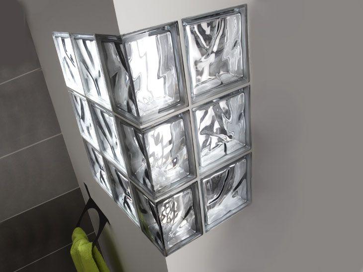 Cloison partiell briques de verre bureau Pinterest Cloisons