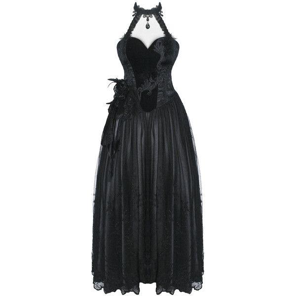 PUNK RAVE BARONESS PROM DRESS Violent Delights ❤ liked on Polyvore ...