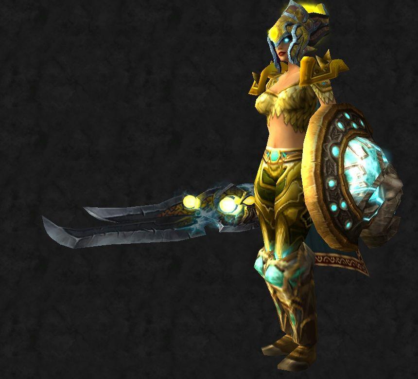 Yellow plate warrior set & Yellow plate warrior set | Ecinsgirl\u0027s WOW Transmogs | Pinterest ...
