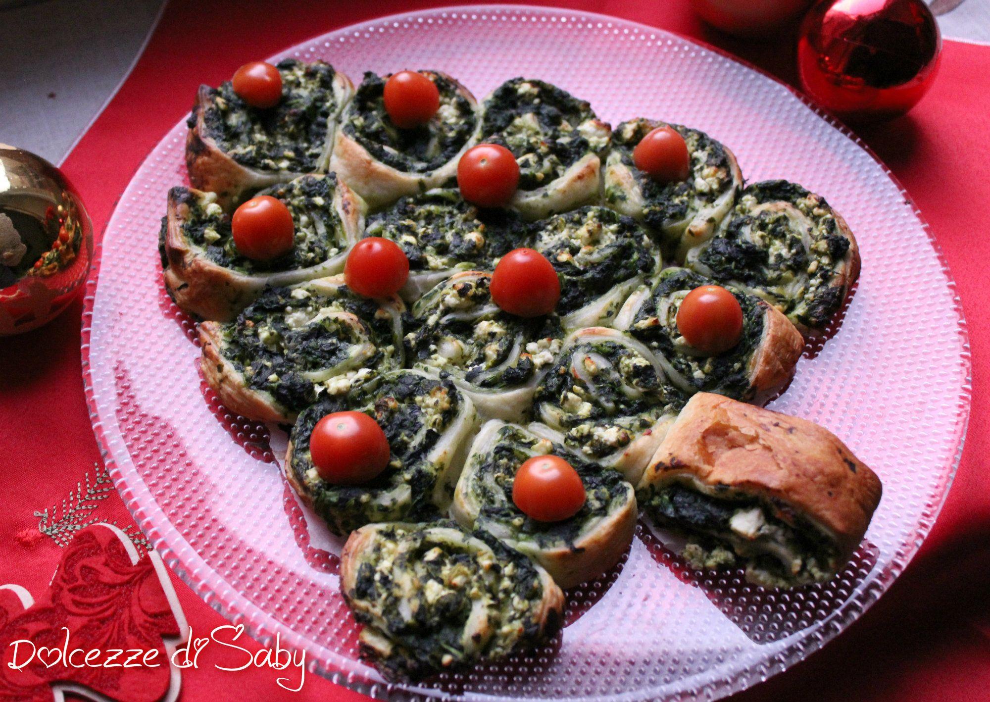Antipasti Di Natale Vegetariani.Albero Di Girelle Antipasto Vegetariano Antipasto Vegetariano Antipasti Vegetariano
