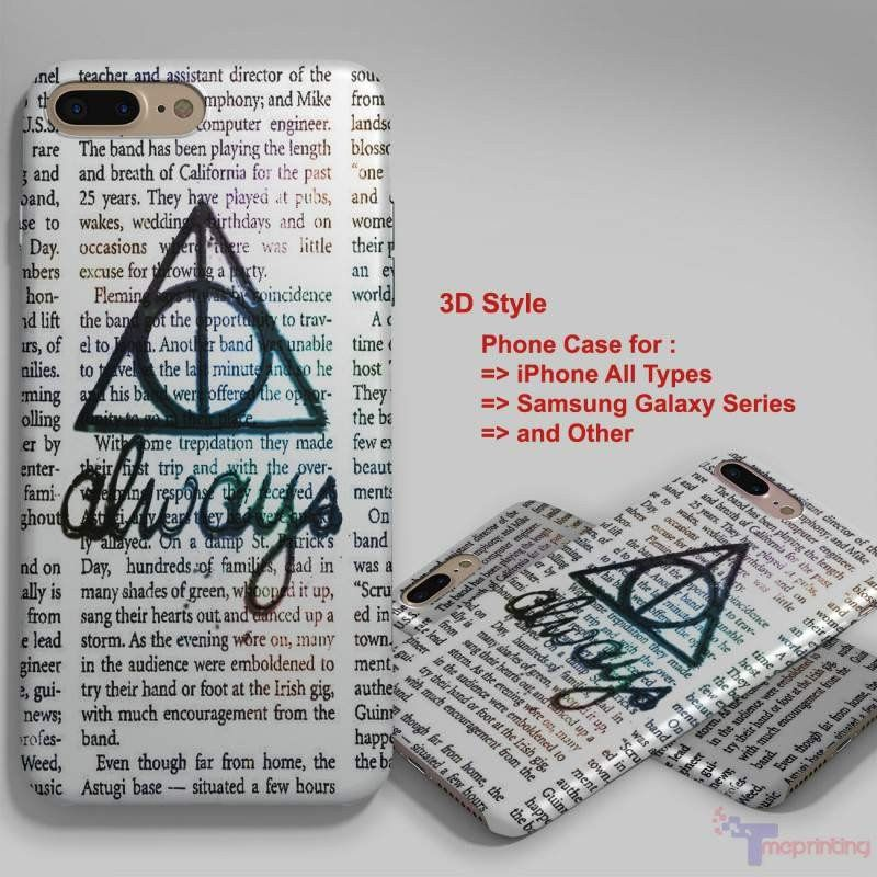 Always Symbol Harry Potter Personalized Iphone 7 Case Iphone 66s