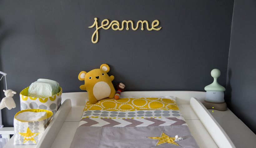 1000 images about dco chambre bb on pinterest - Chambre Bebe Gris Fonce