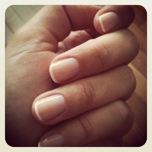 Pin By D W Dubose On Beautiful Nails Natural Nails French Nails Nail Manicure