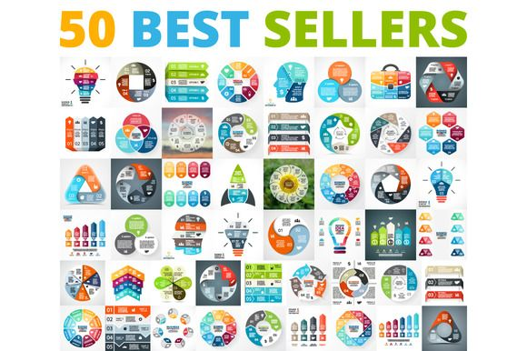 50 infographics best sellers infographics presentation design and