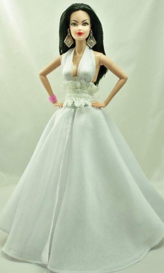 barbie doll evening gowns..reinadolls. 2013 el salvador. 12 33 2