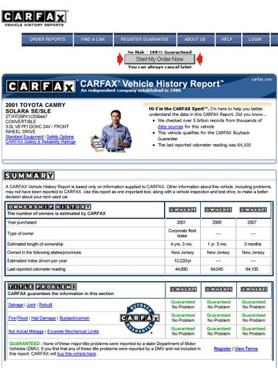 Learn How To Easily Read A Carfax Report New Car Chevy Dealers