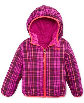 f68a7ae87e0d The North Face Little Girls  or Toddler Girls  Reversible Perrito Jacket -  Kids - Macy s