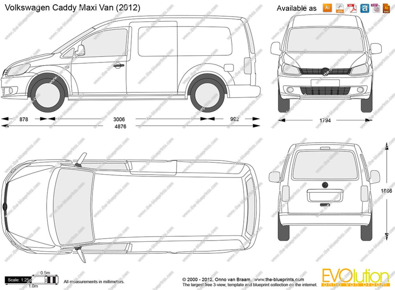 Vw caddy maxi club dress