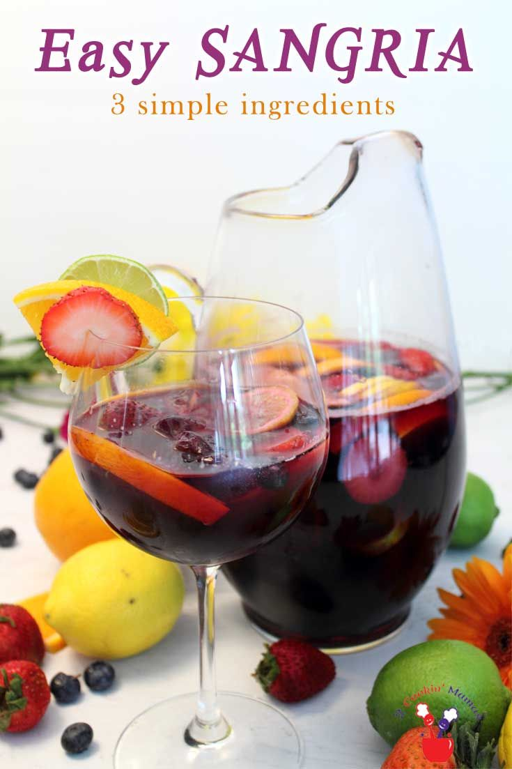 3-Ingredient Easy Sangria