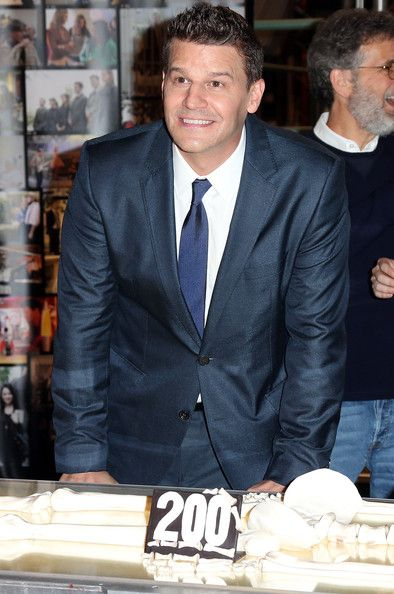 David Boreanaz Pictures - Fox Celebrates 'Bones' 200th Episode - Zimbio