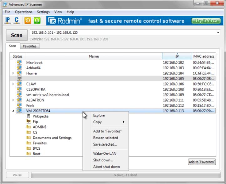advanced ip scanner 2 5 download | advanced ip scanner 2 5 download