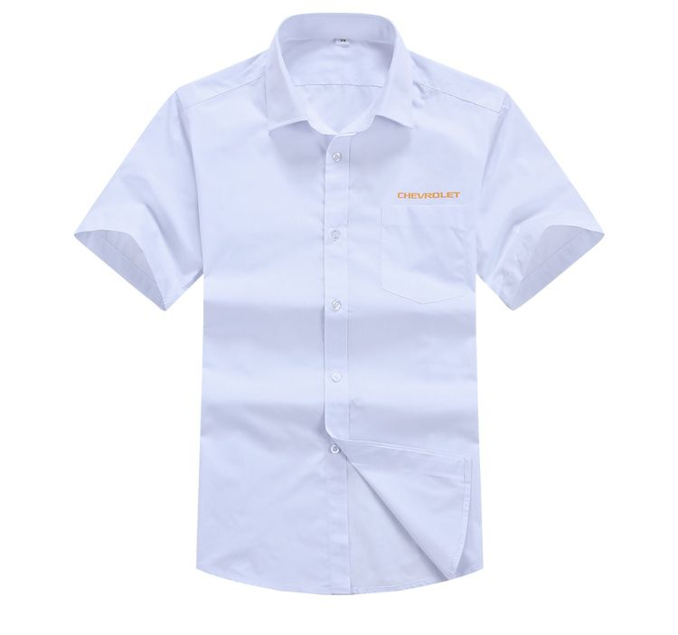 6889a988e Custom Made Men Plain TC Polyester Cotton Corporate/office Uniform Work  Shirts with logo printing