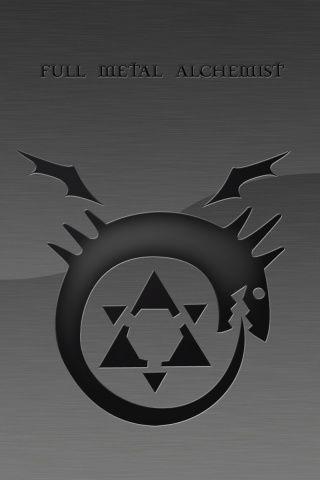 Black Full Metal Alchemist Symbol Nerdtastic Pinterest Full