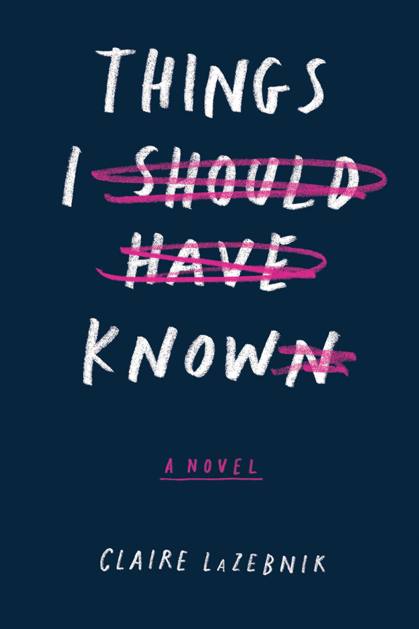 Things I Should Have Known – Claire LaZebnik https://www.goodreads.com/book/show/30971706-things-i-should-have-known