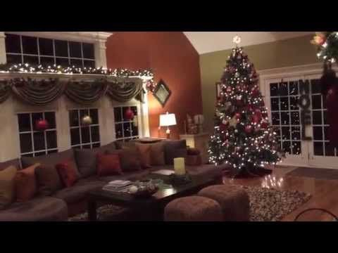 My Home at Christmas Time -2015 - YouTube