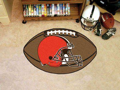 "NFL - Cleveland Browns Football Rug 20.5""x32.5"""