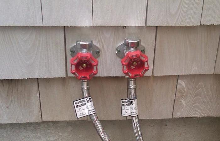 Outdoor shower hook up to hose