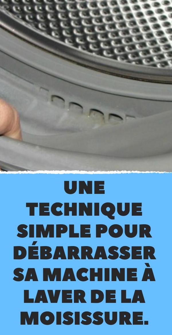 une technique simple pour d barrasser sa machine laver. Black Bedroom Furniture Sets. Home Design Ideas