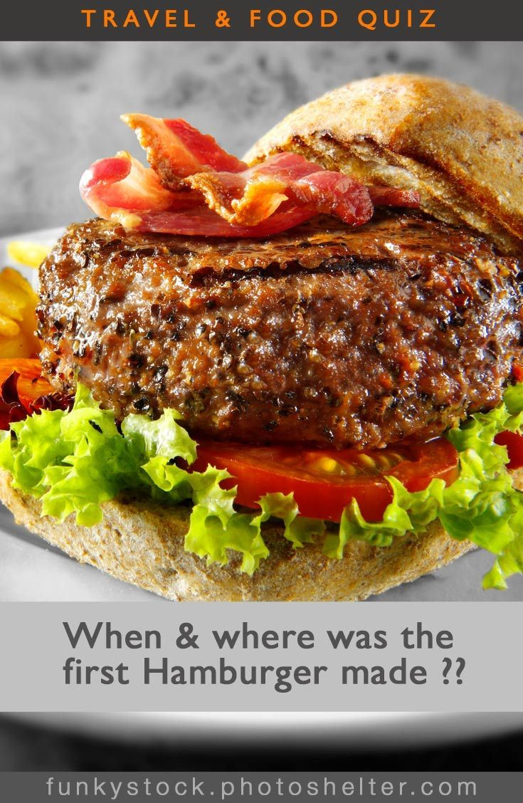 The answer hangs on whether a true hamburger is served in