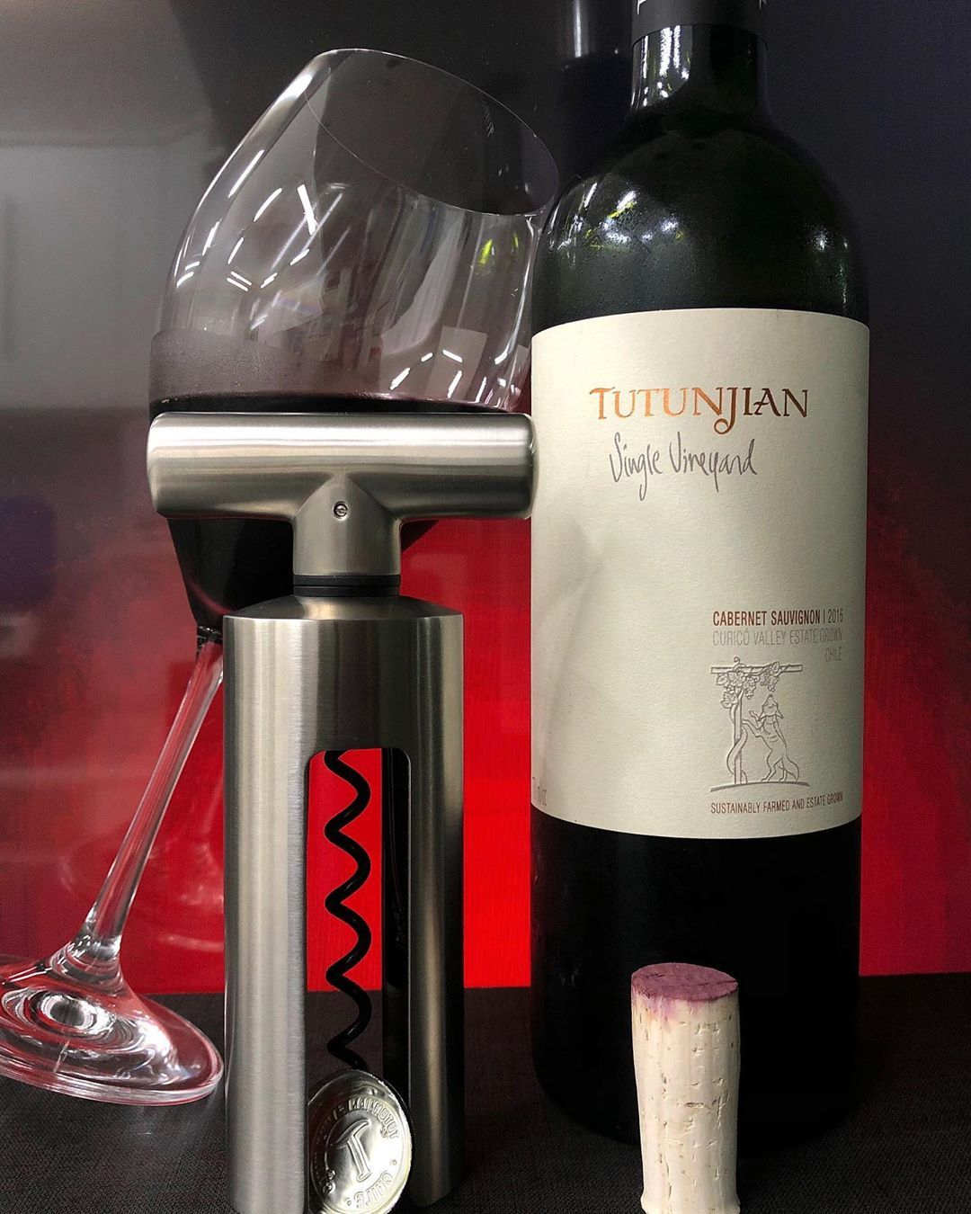 Photo By Mi Taraborelli Brasil Tutunjian Single Vineyards Cabernet Sauvignon 2016 Curico Valley Chile 14 Alc Degustado Em Novembro 2019 De Cor Rub