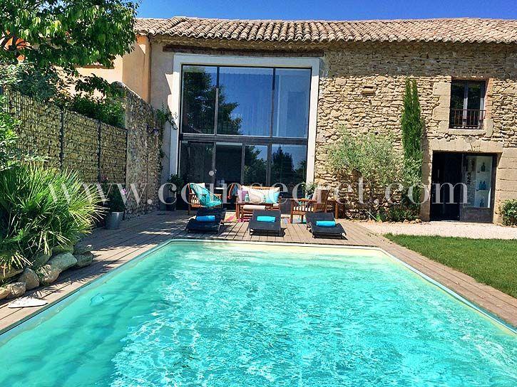Mas de vacances avec piscine à Sainte Cécile les Vignes dans le - location saisonniere avec piscine privee