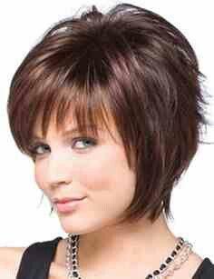 Round faces hair cut