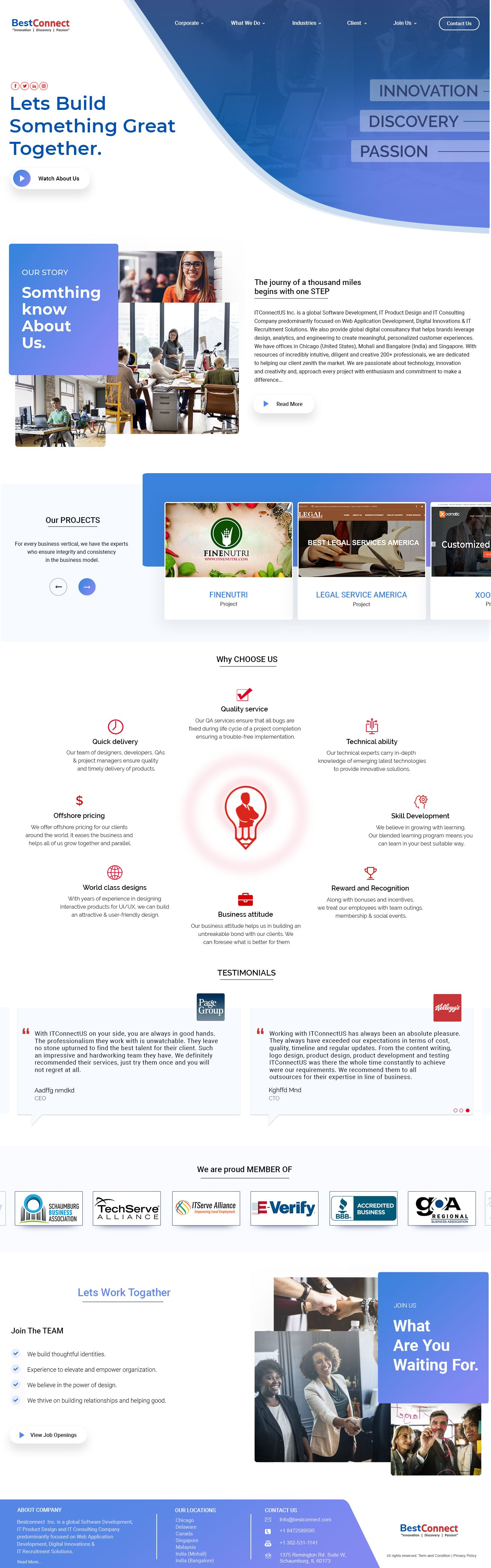 Connect With New Way Webpage Design Website Design Design