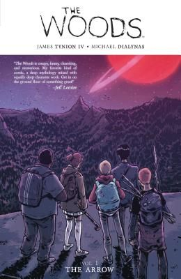 The Woods by James Tynion IV (Michael Dialynas, illustrator): Read @JamesTheFourth @theWoodenKing The Woods Vol. 1: Ignored knocks on door & phone calls to race thru book. Then went back to savor artwork