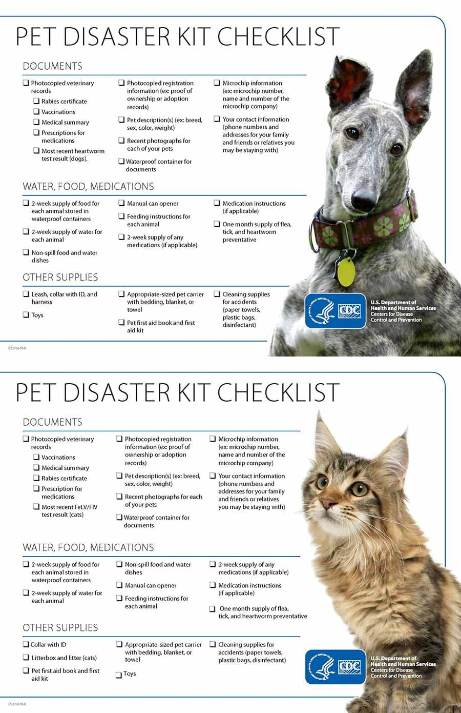 Pet Emergency Checklist With Images Pet Emergency Veterinary Pets