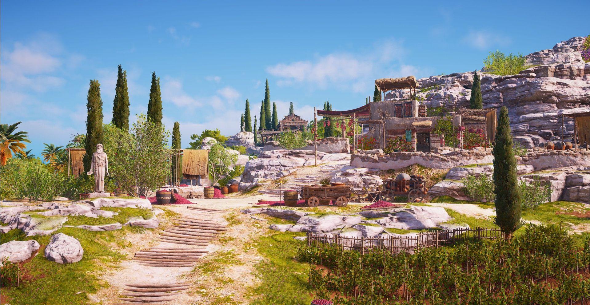 Vineyards On The Island Of Kos Assassins Creed Odyssey Island Samos