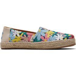 Alpargatas clásicas con estampado de flores Toms Shoes para niños – Talla 35 TomsToms