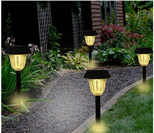Super Bright 10 Lumen Led For Home Outdoor Safety Convenience The High Lumen Output Outd Solar Lights Garden Solar Landscape Lighting Outdoor Path Lighting