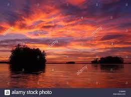 Image result for boat sunset muskoka