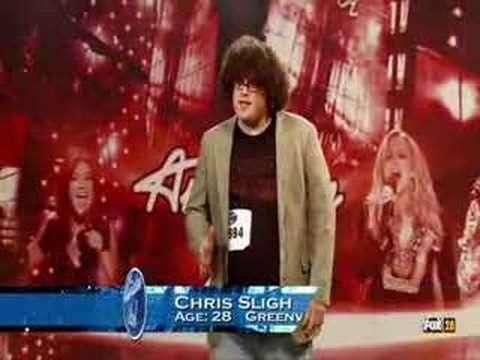 Chris Sligh First Audition American Idol American Idol The