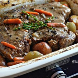 Photo of The BEST Crockpot Pot Roast Recipe   Yummly