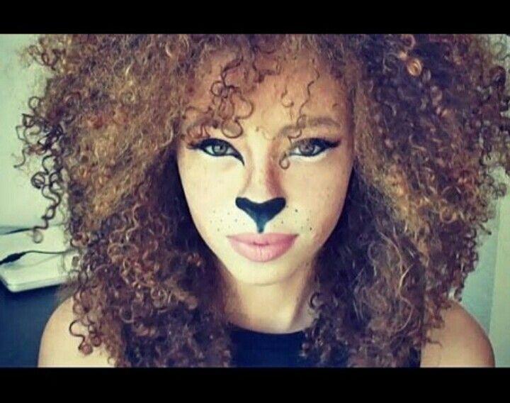 Lioness Halloween Makeup | Halloween | Pinterest | Halloween ...