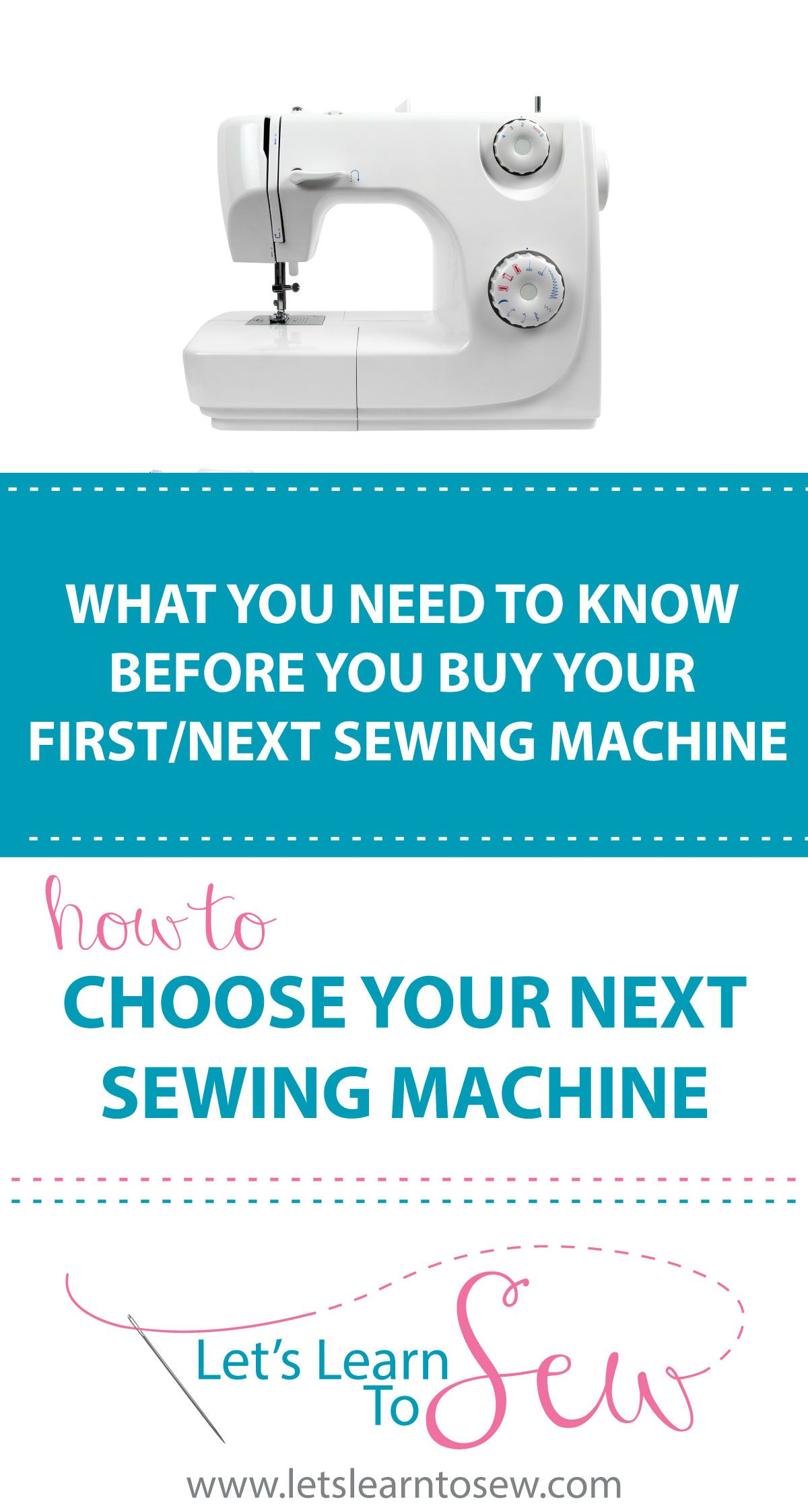How To Choose A Sewing Machine: What You Need To Know in 2020