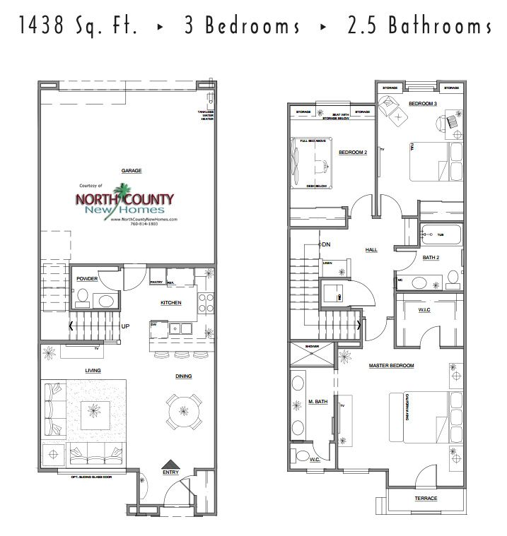 Pin On New Home Floor Plans In North County San Diego