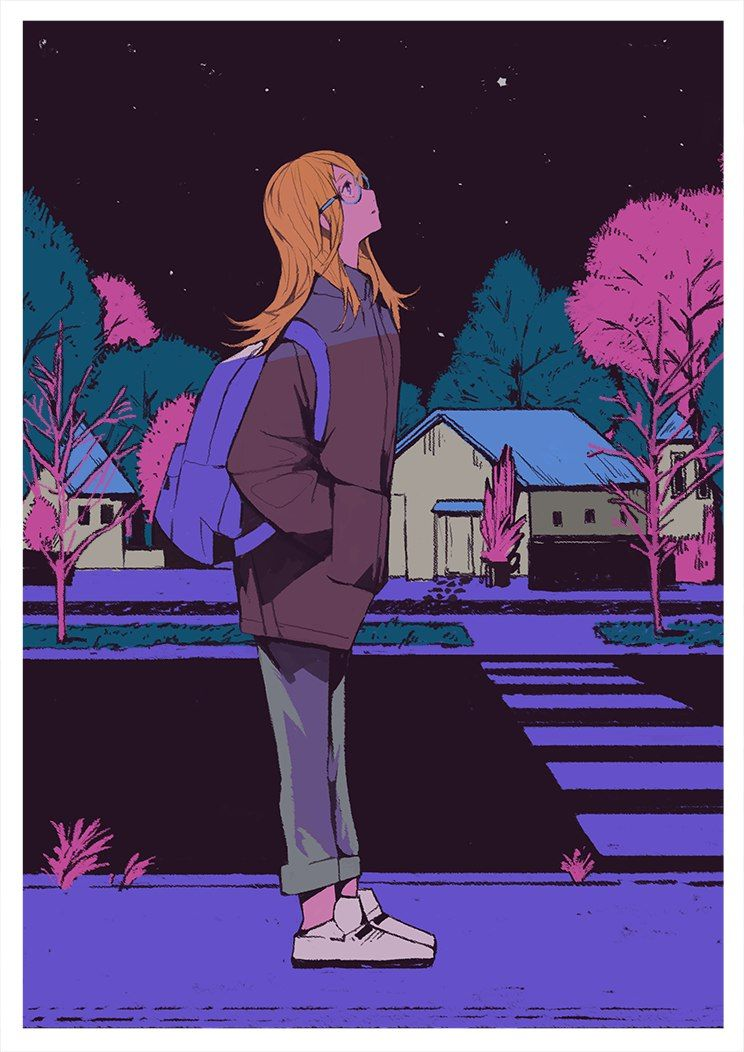 Hikikomori Рисунки с персонажами, Иллюстрации