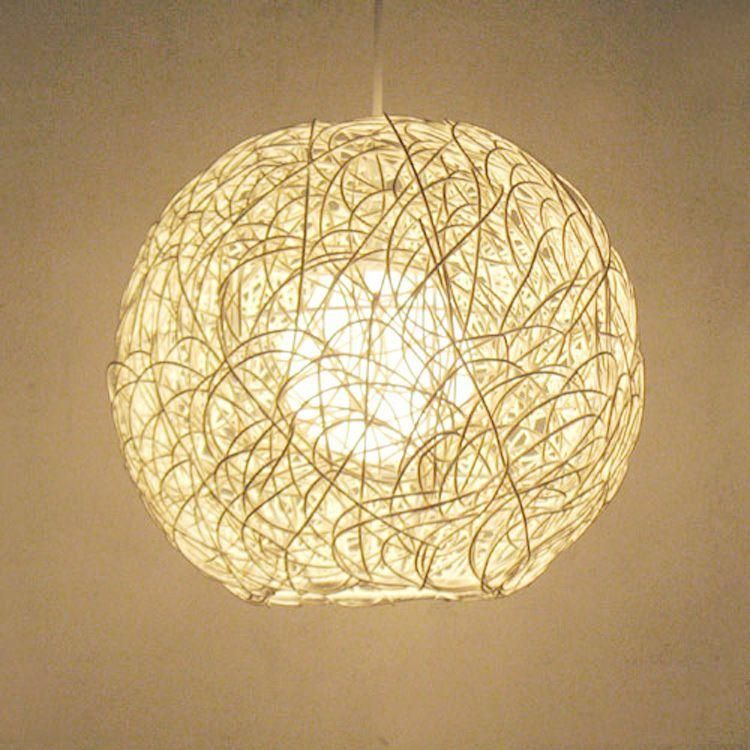 Europeanstyle garden minimalist modern home fashion bedroom lighting rattan rattan ball restaurant is part of Indoor garden Minimalist - Europeanstyle garden minimalist modern home fashion bedroom lighting rattan rattan ball restaurant chandelier 30CM