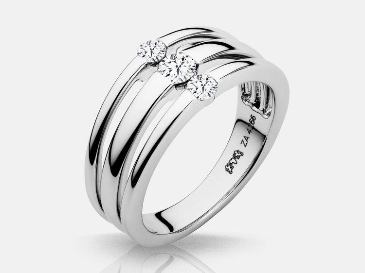 Ravishing 0.60Ct Round Cut Diamond Hoop Earrings 14K White Gold Over 925 Silver