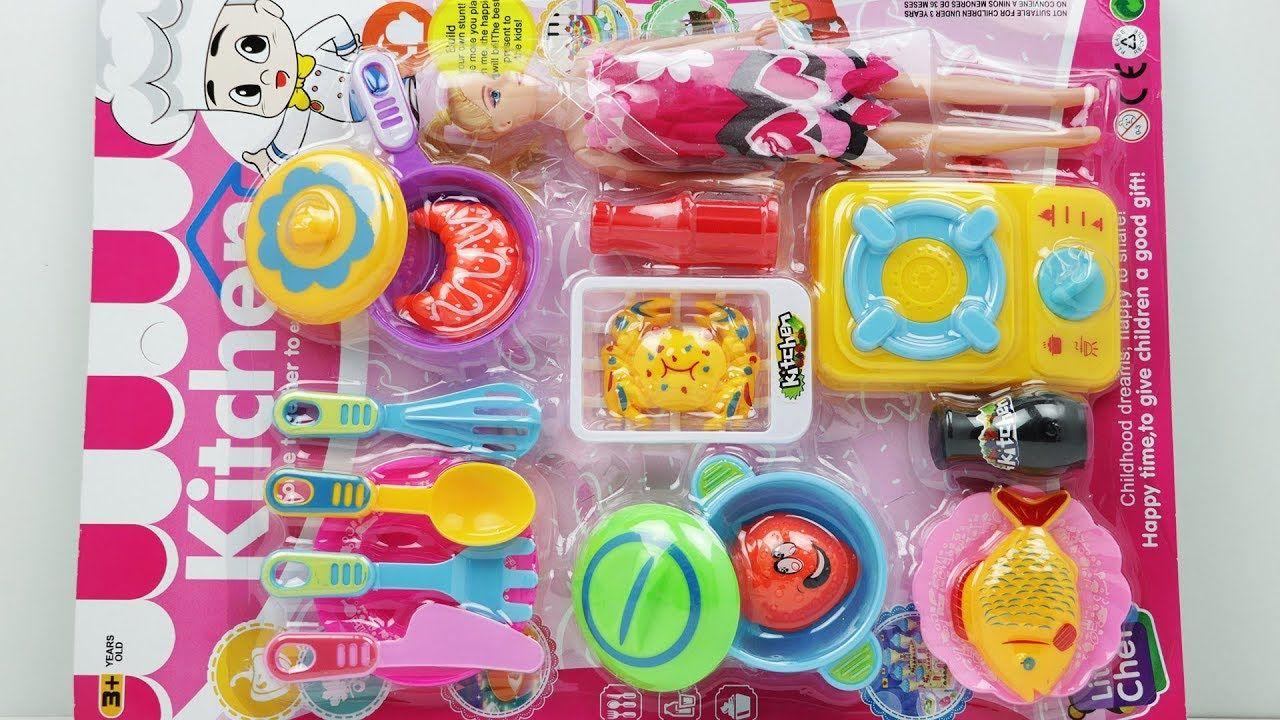 Little Chef Childhood Dreams Kitchen Set Unpacking Toy Review Baby Kitchen Set Kitchen Sets Dream Kitchen