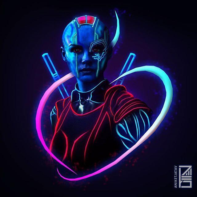 Nebula neon wallpaper Credit: @aniketjatav on instagram ...