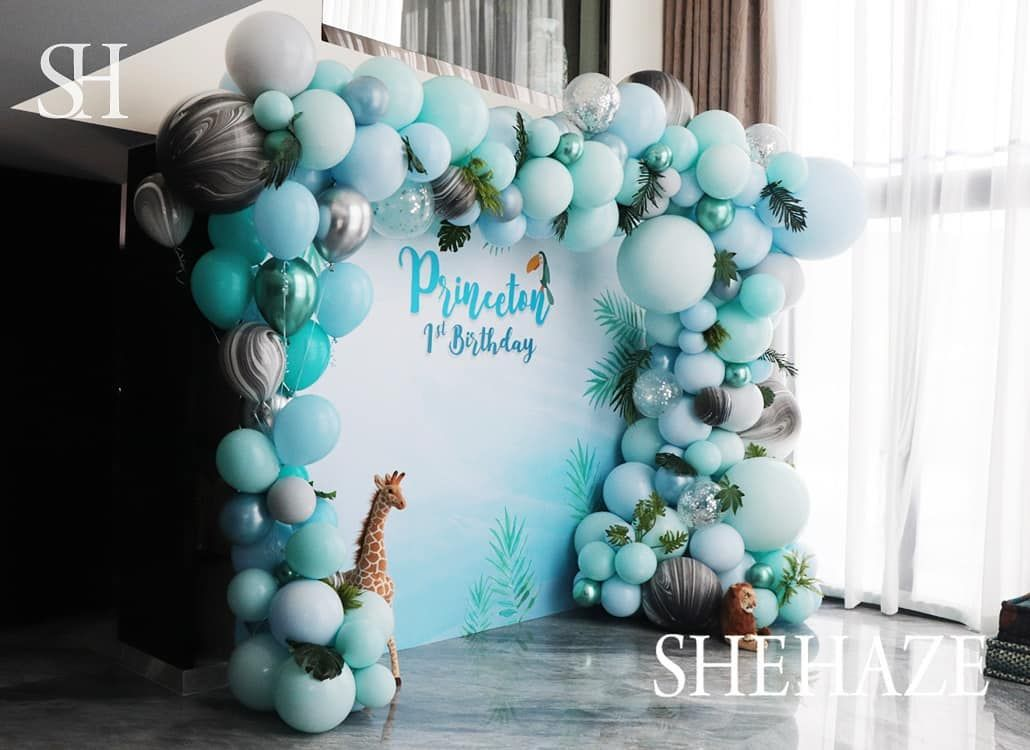 We love the forest birthday party.🦁🦊🐿🌳🌿 Happy birthday to Princeton ♥️♥️♥️ Princeton's 1st birthday celebration style and production by the SHEHAZE Creative