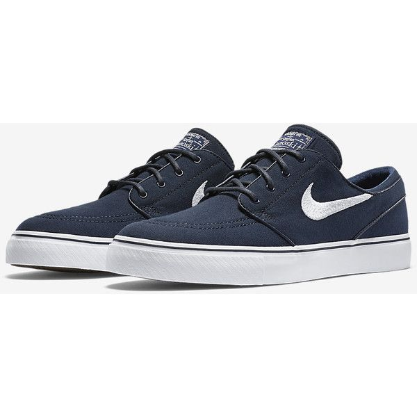 Nike Zoom Sb Stefan Janoski Lona Unisex Zapato Negro