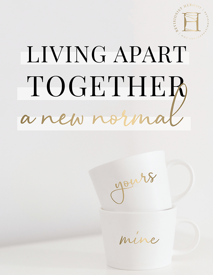 Living apart together: The new normal for some happy ...