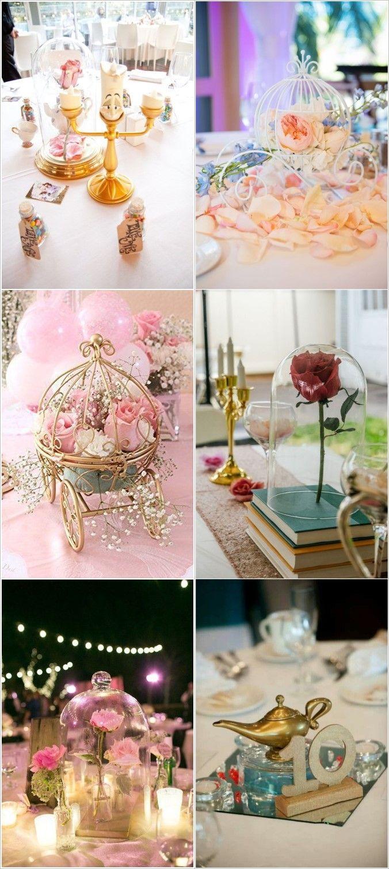 40+ Charming Disney Wedding Theme Ideas